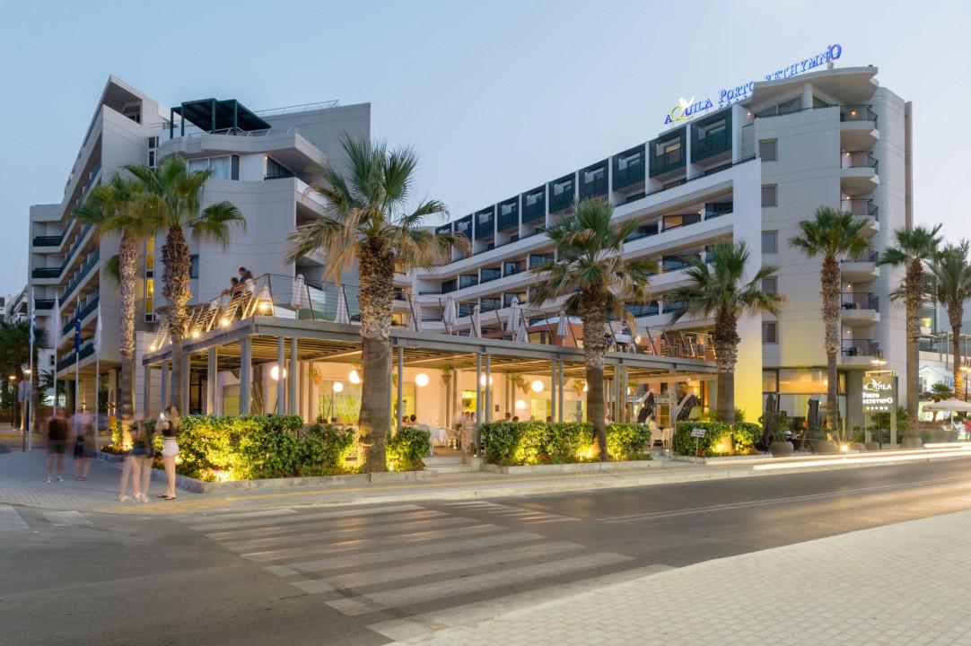 AQUILA PORTO RETHYMNO HOTEL – HOTEL FRONT VIEW