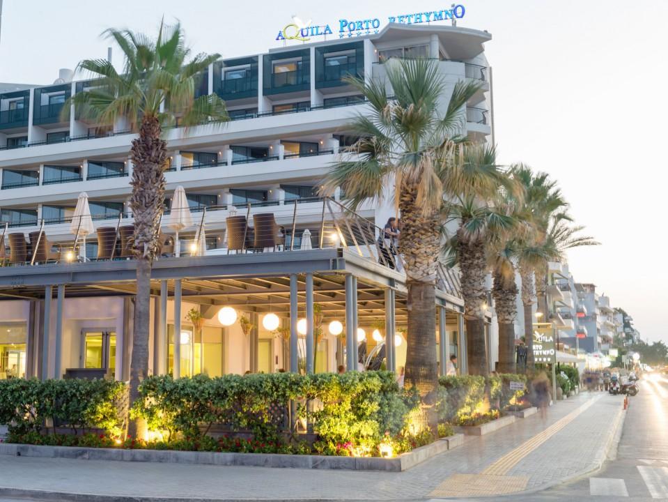 AQUILA PORTO RETHYMNO HOTEL – PIAZZA DI PORTO SIDE VIEW
