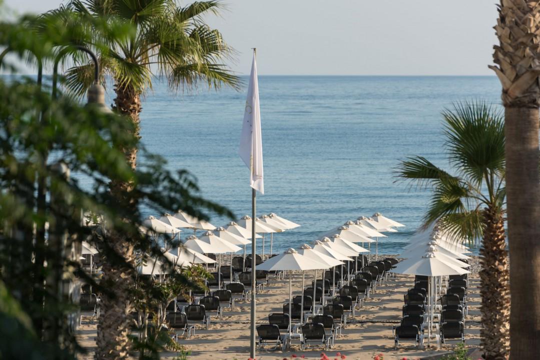 AQUILA PORTO RETHYMNO HOTEL – BEACH DECK VIEW