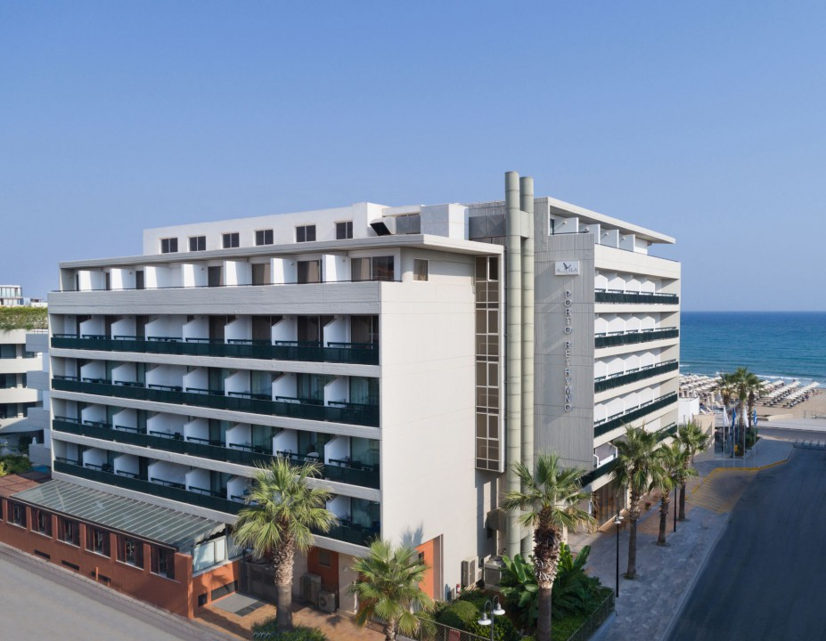 AQUILA PORTO RETHYMNO HOTEL – HOTEL REAR SIDE SEA VIEW